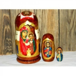 Matryoshkas with Biblical plot.
