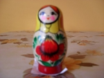 4 pieces matrioshka