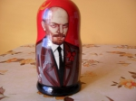 5 pieces Lenin matryoshka