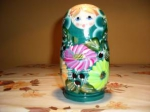 5 pieces matrioshka
