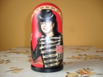 5 pieces Michael Jackson matryoshka