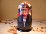 5 pieces putin matryoshka