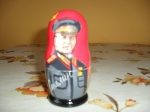 5 pieces stalin matryoshka