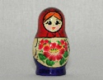 6 pieces matrioshka