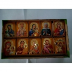 box with Virgin and saints